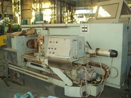 Lathe with CNC 16A20F3 before repair 1