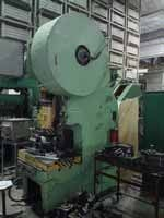Single-point single-acting unshielded fixed press K2130 before repair 1