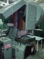 LEN63C single-point press before repair 1