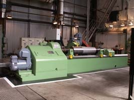 Farell roll-grinding machine after repair 2