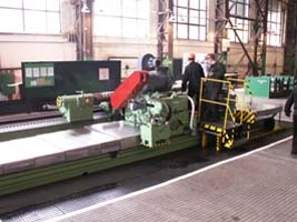 Farell roll-grinding machine after repair 3