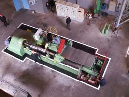 Farell roll-grinding machine after repair 5