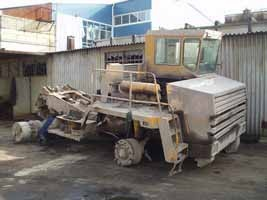 BelAZ before repair 2