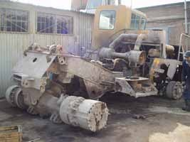 BelAZ before repair 1