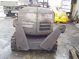 BROKK - 330 before repair 2