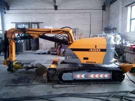 BROKK - 400 after repair 1