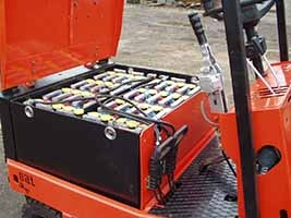 Electric loader EV-687 3
