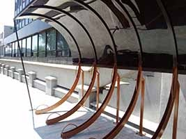 Bicycle parking rack 3