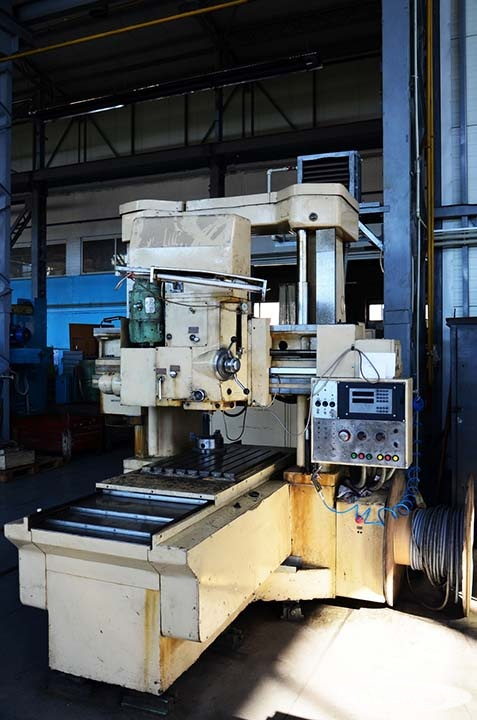 Two-column coordinate-boring machine with high precision digital indication model 2455AF1 2