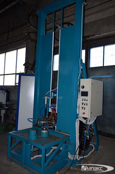 Hardening machine with high-frequency transistor generator VTG-160-66 2
